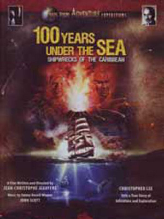 100 Years Under the Sea: Shipwrecks of the Carribean : Affiche