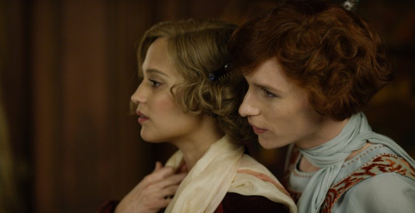 The Danish Girl : Photo Alicia Vikander, Eddie Redmayne
