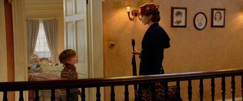 Le Retour de Mary Poppins : Photo Emily Blunt, Joel Dawson