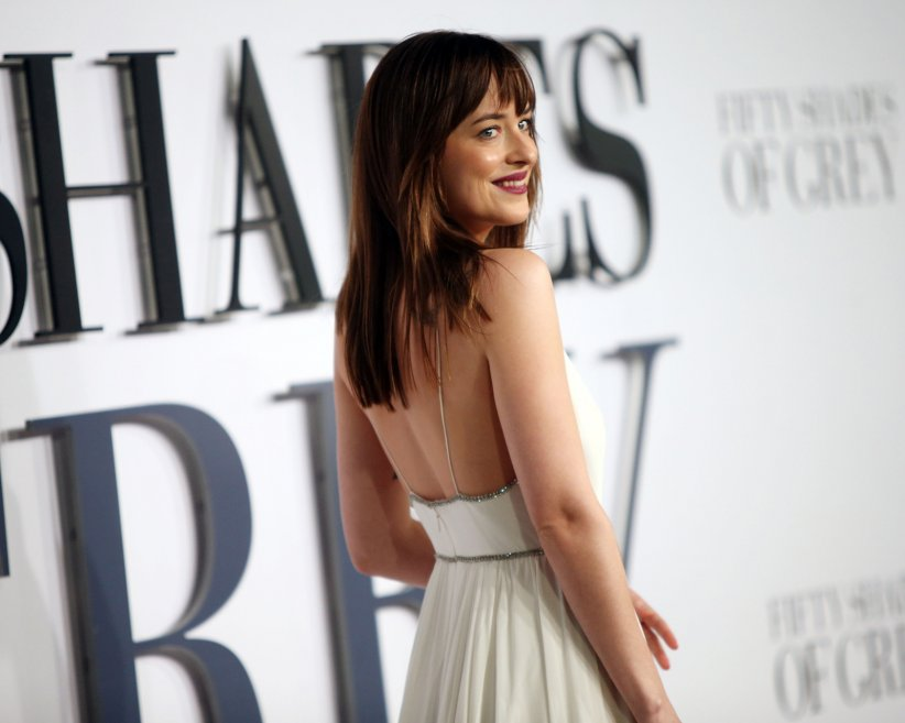 Cinquante Nuances de Grey : Photo promotionnelle Dakota Johnson, Jamie Dornan
