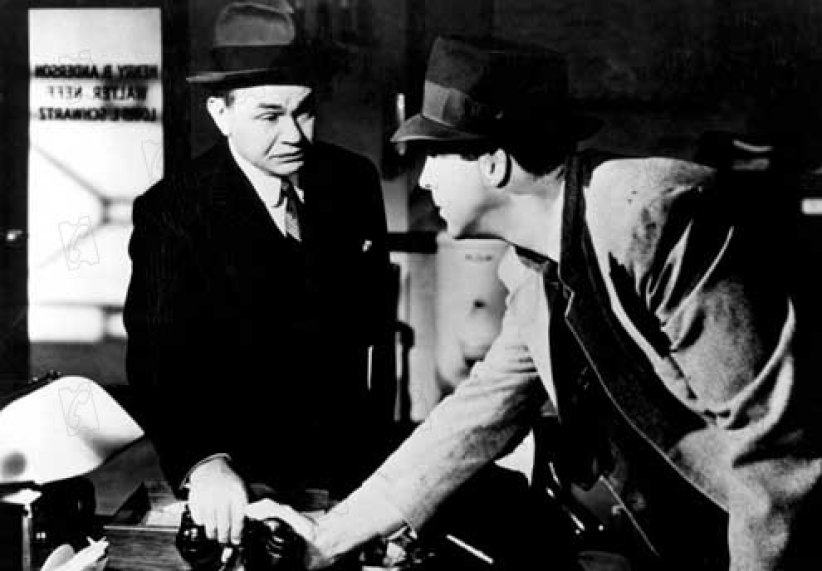 Assurance sur la mort : Photo Edward G. Robinson, Fred MacMurray