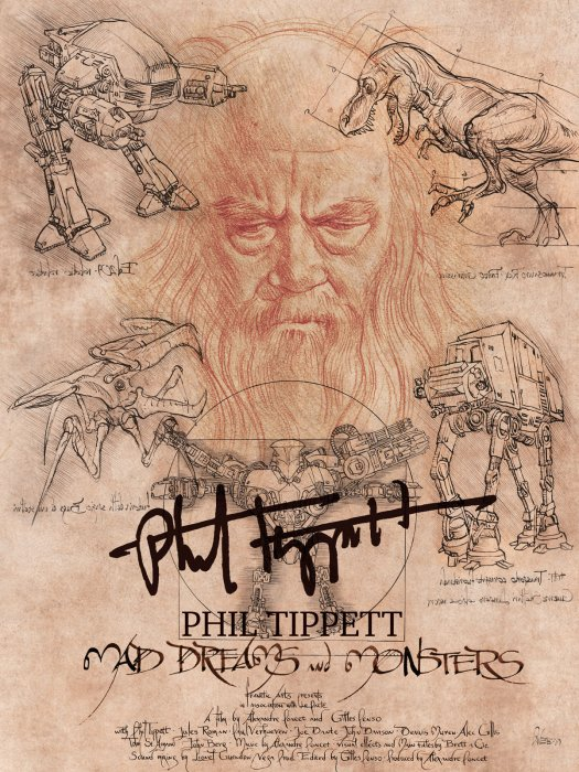 Phil Tippett: Mad Dreams and Monsters : Affiche