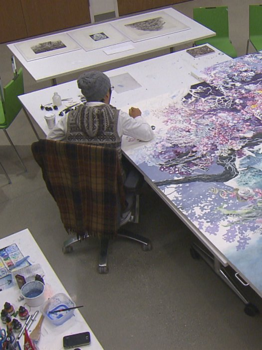 A Single Pen: The World of Artist Manabu Ikeda : Affiche