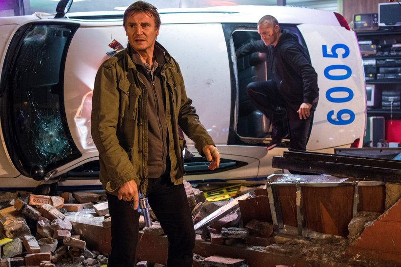 Night Run : Photo Joel Kinnaman, Liam Neeson