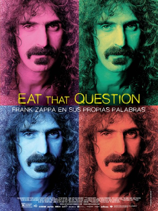 Eat That Question - Frank Zappa in His Own Words : Affiche