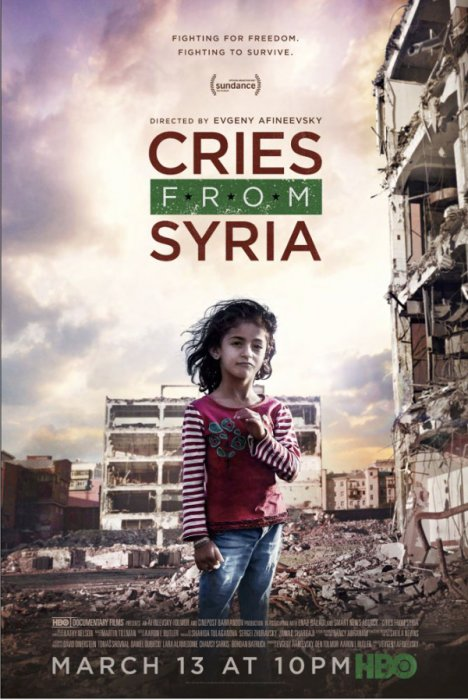 Cries from Syria : Affiche
