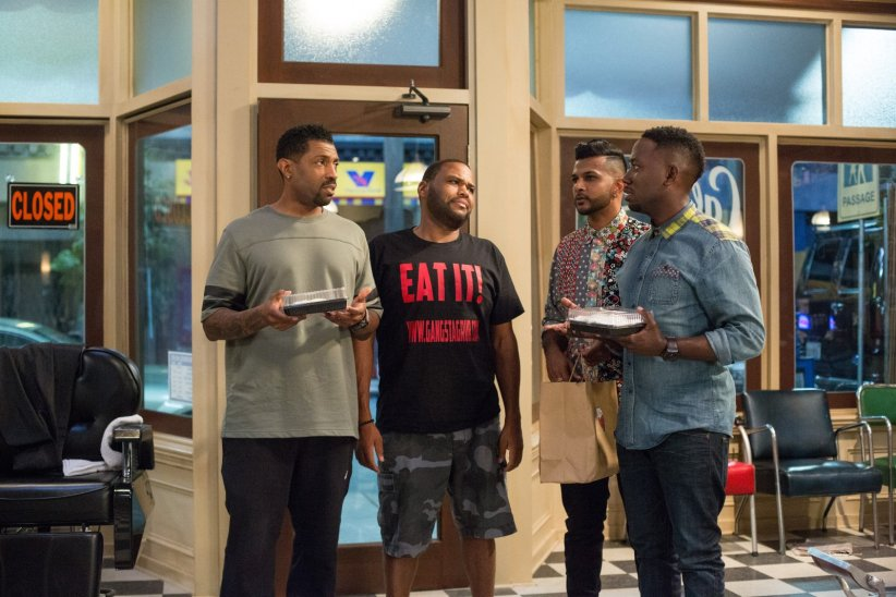 Barbershop: The Next Cut : Photo Anthony Anderson, Deon Cole, Lamorne Morris, Utkarsh Ambudkar