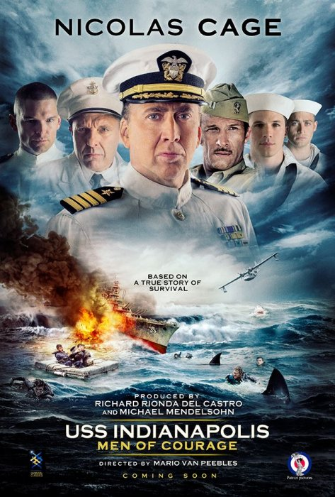 USS Indianapolis : Affiche