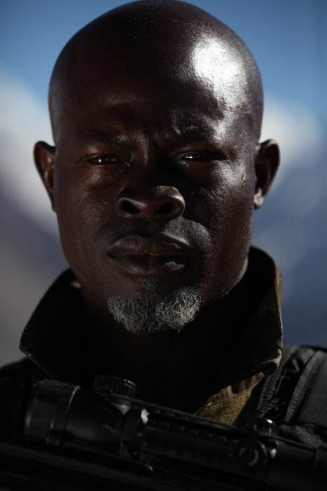 Forces spéciales : photo Djimon Hounsou, Stephane Rybojad