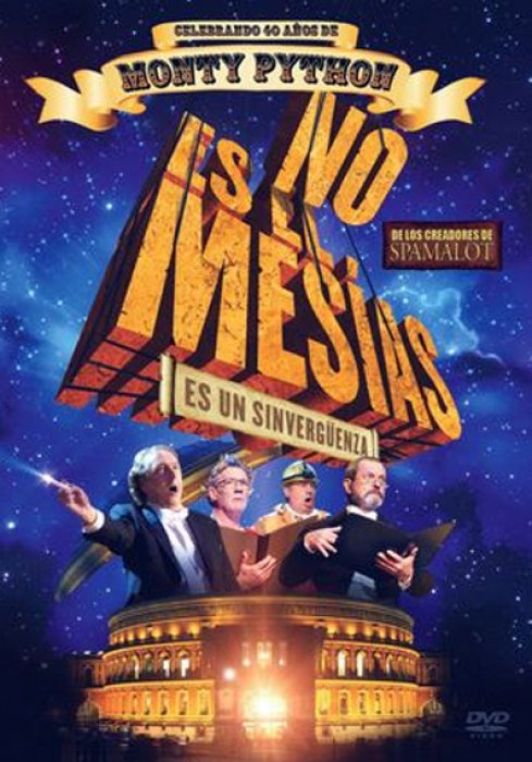 Not The Messiah (He's a Very Naughty Boy) : Affiche