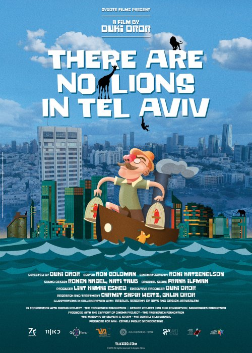 There are no lions in Tel-Aviv : Affiche
