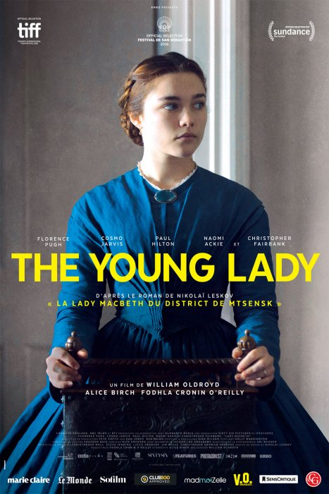 The Young Lady : Affiche