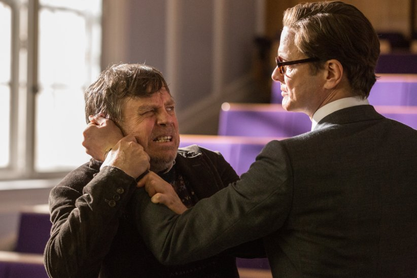 Kingsman : Services secrets : Photo Colin Firth, Mark Hamill