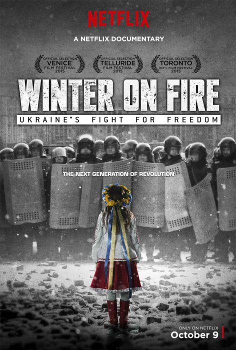 Winter on Fire: Ukraine's Fight for Freedom : Affiche
