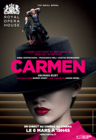 Affiche de Carmen (Royal Opera House)
