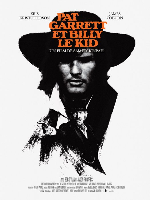 Pat Garrett et Billy le Kid : Affiche