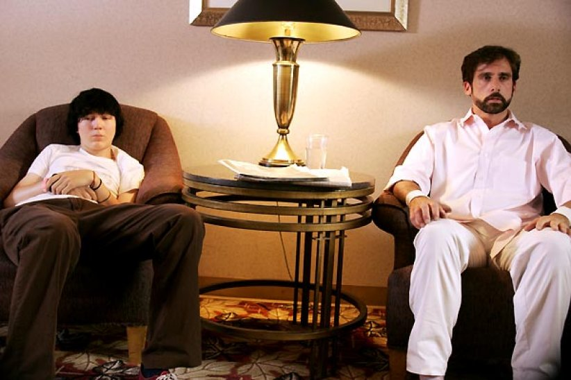 Little Miss Sunshine : Photo Paul Dano, Steve Carell