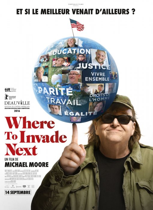 Where To Invade Next : Affiche