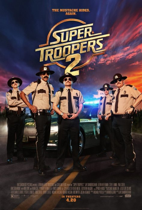 Super Troopers 2 : Affiche