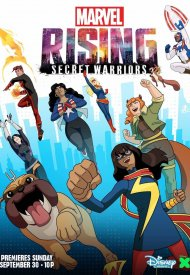 Affiche de Marvel Rising: Secret Warriors