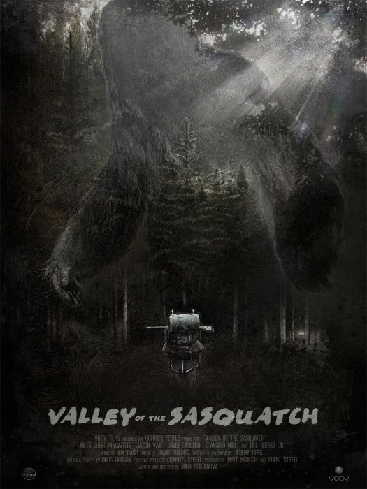 Valley of the Sasquatch : Affiche