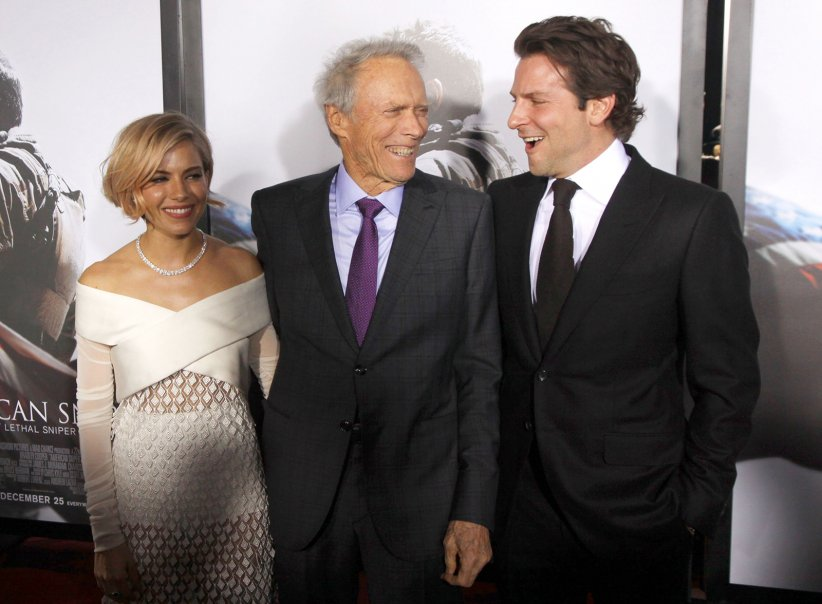 American Sniper : Photo promotionnelle Bradley Cooper, Clint Eastwood, Sienna Miller
