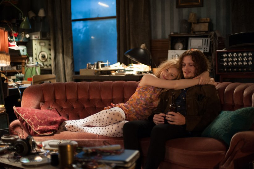 Only Lovers Left Alive : Photo Anton Yelchin, Mia Wasikowska