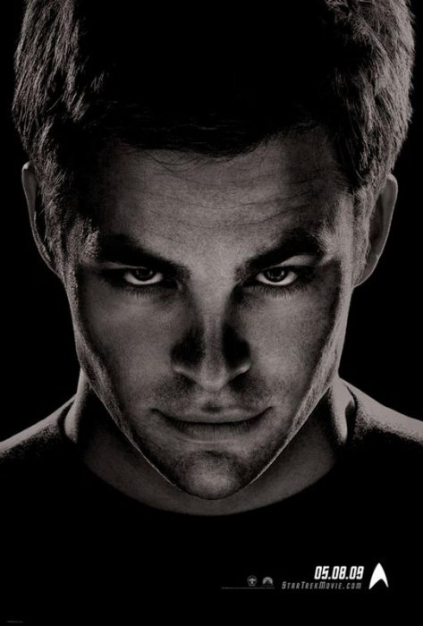 Star Trek : Affiche Chris Pine, J.J. Abrams