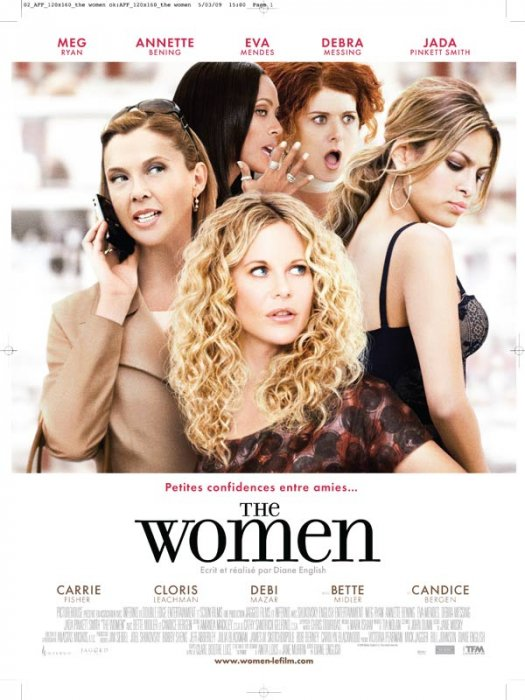 The Women : Affiche Debra Messing, Diane English, Diane Keaton, Eva Mendes, Meg Ryan