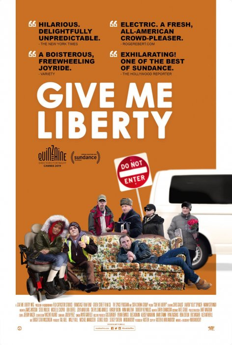 Give Me Liberty : Affiche
