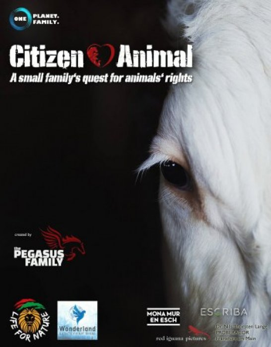 Citizen Animal - A Small Family's Quest for Animal Rights : Affiche