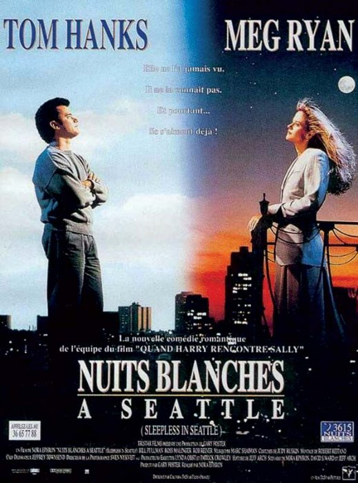 Nuits blanches à Seattle : Affiche Nora Ephron