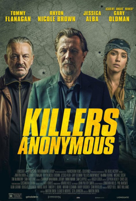Killers Anonymous : Affiche