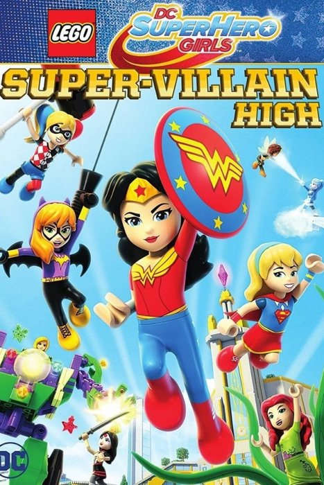 Lego DC Super Hero Girls: Super-Villain High : Affiche