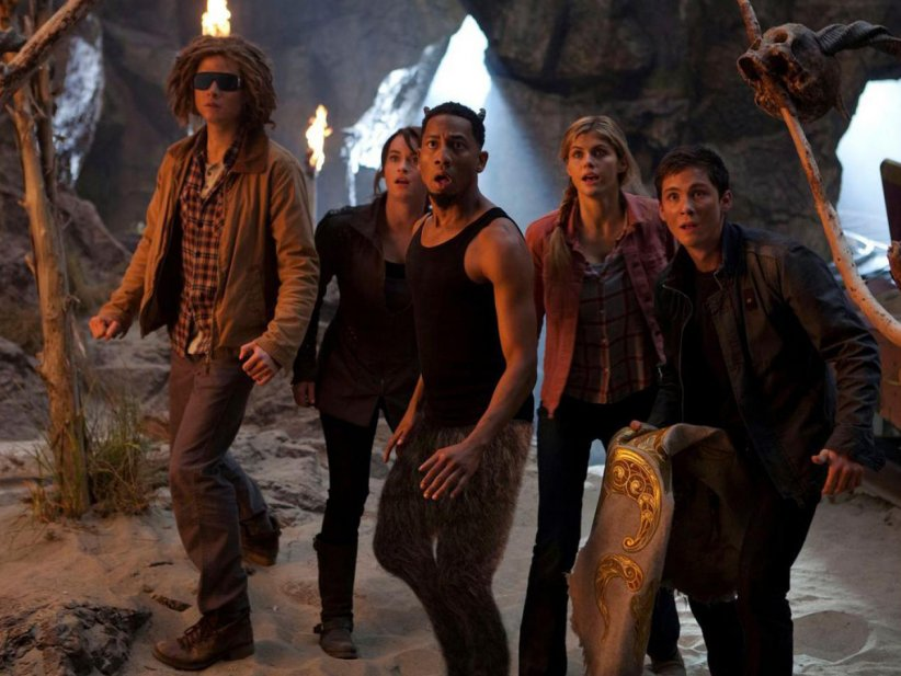 Percy Jackson : La mer des monstres : Photo Alexandra Daddario, Brandon T. Jackson, Logan Lerman