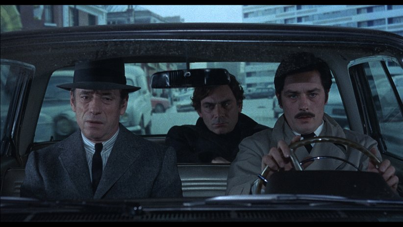 Le Cercle Rouge : Photo Alain Delon, Gian Maria Volonte, Yves Montand
