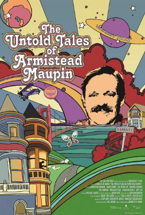 The Untold Tales of Armistead Maupin : Affiche