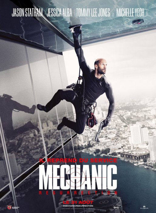 Mechanic Résurrection : Affiche