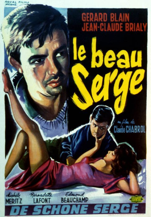 Le Beau Serge : affiche Claude Chabrol