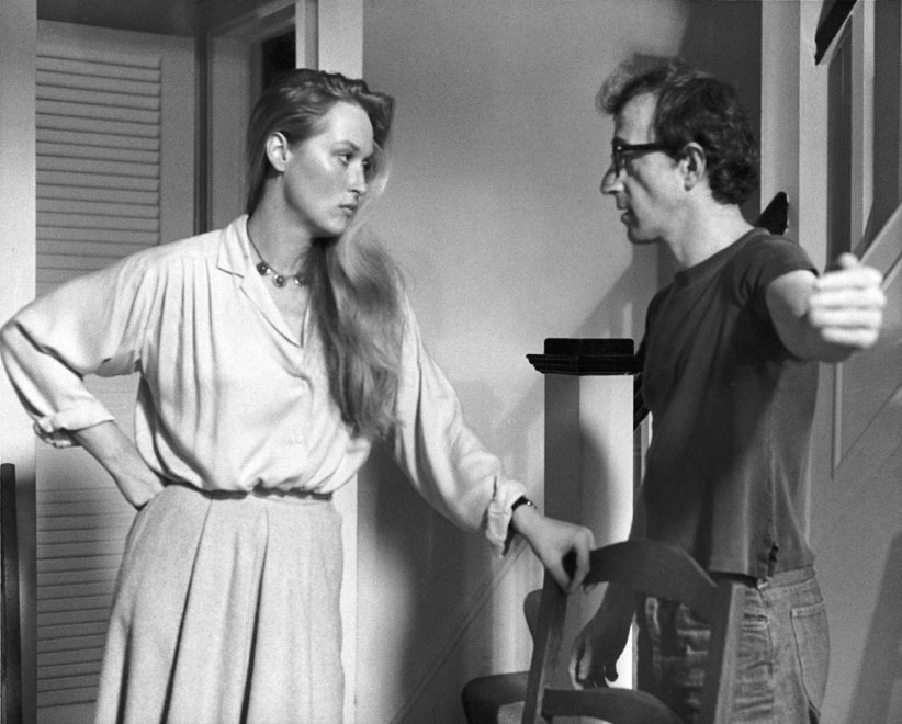 Manhattan : Photo Meryl Streep, Woody Allen