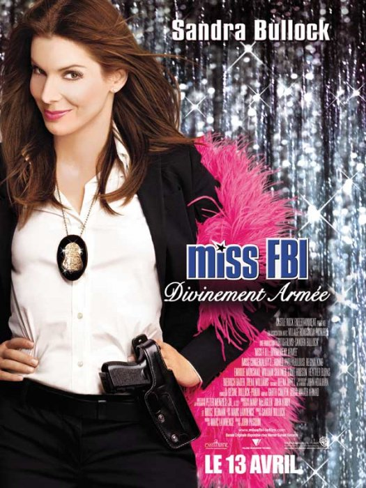 Miss FBI : divinement armée : Affiche
