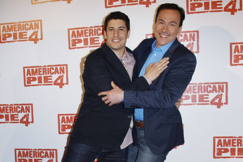 American Pie 4 : Photo promotionnelle Chris Klein, Hayden Schlossberg, Jason Biggs, Jon Hurwitz