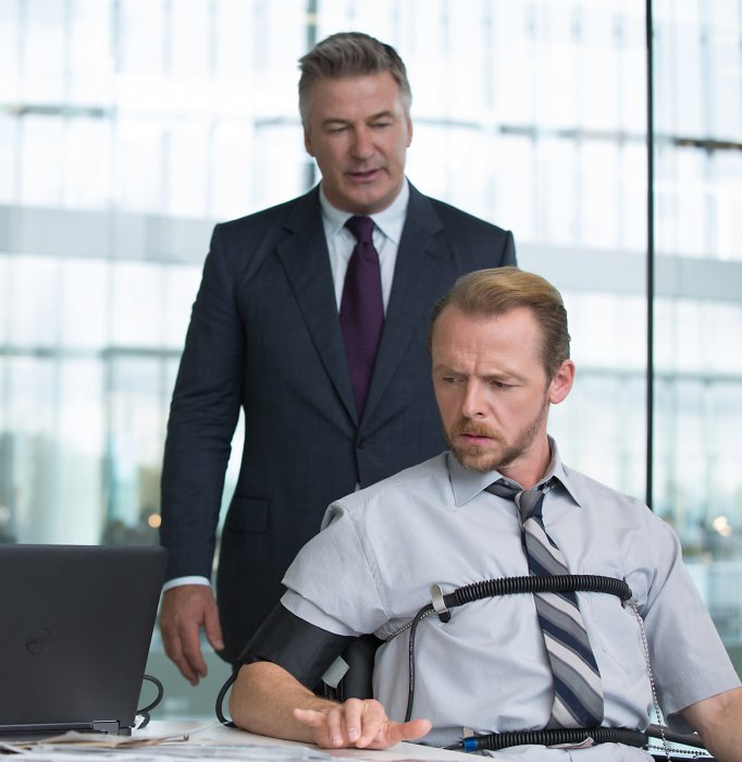 Mission: Impossible - Rogue Nation : Photo Alec Baldwin, Simon Pegg