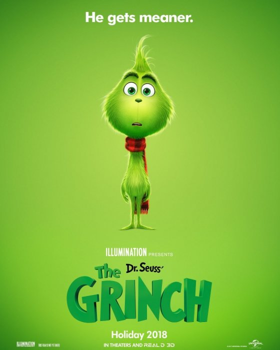 Dr. Seuss' How the Grinch Stole Christmas : Affiche