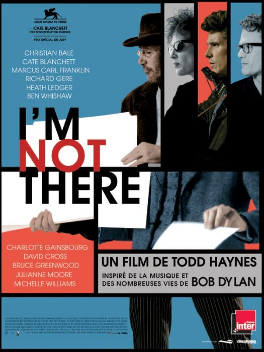 I'm Not There : Affiche Heath Ledger, Richard Gere