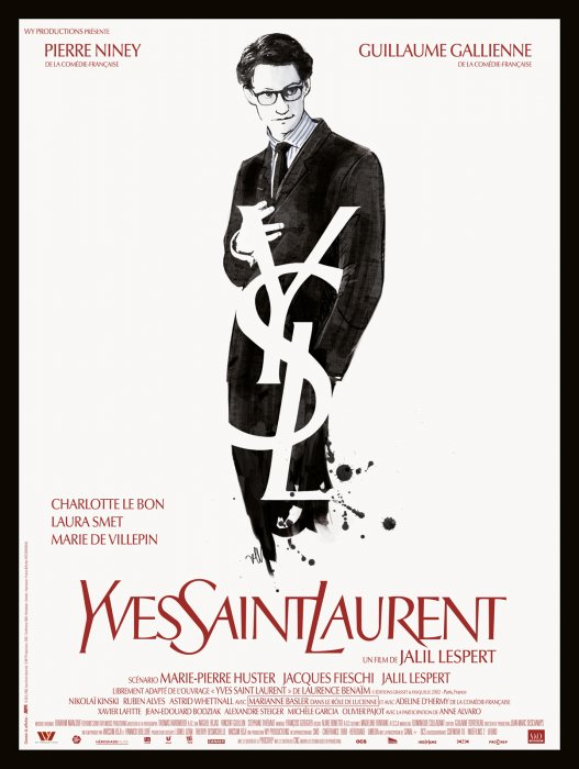 Yves Saint-Laurent : Affiche