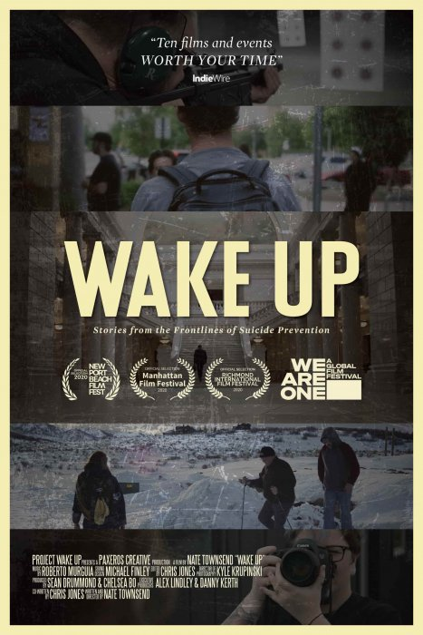 Wake Up: Stories From the Frontlines of Suicide Prevention : Affiche
