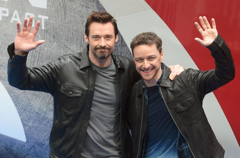 X-Men: Days of Future Past : Photo promotionnelle Hugh Jackman, James McAvoy