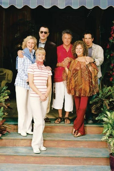 Mon beau-père, mes parents et moi : Photo Barbra Streisand, Ben Stiller, Blythe Danner, Dustin Hoffman, Robert De Niro