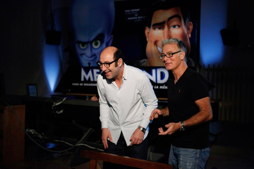 Megamind : Photo Franck Dubosc, Kad Merad